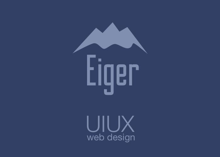 Eiger UIUX Web Design